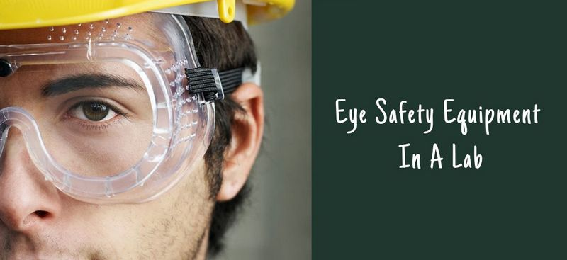 Eye Safety Equipment In A Lab