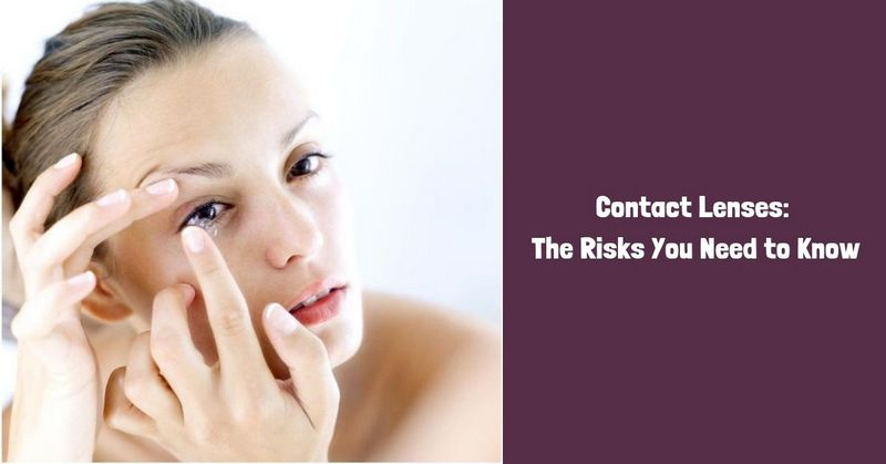 Risks Of Using Contact Lenses